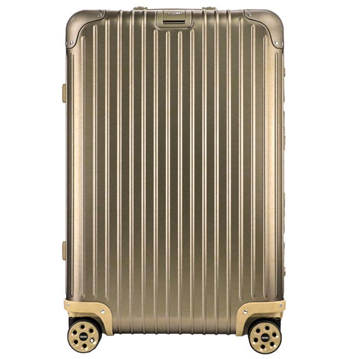 【お取り寄せ】リモワRIMOWAスーツケーストパーズチタニウム924.63.03.467L5.3kgゴールド5泊~7泊目安TSAロック4輪