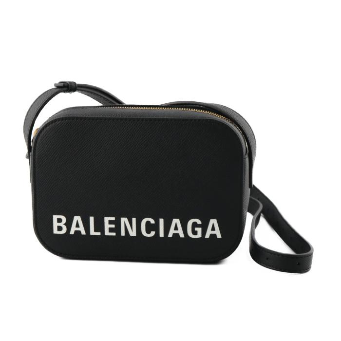 バレンシアガBALENCIAGAショルダーバッグカメラバッグXSVILLEヴィル5581710OTNM1090ブラックレディース