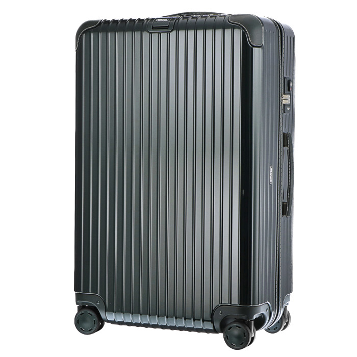【8月末以降お届け】【お取り寄せ】【送料無料!】リモワ RIMOWA スーツケース ボサノバ 870.73.40.4 84L 5.5kg グリーン 5泊~7泊目安 TSAロック 4輪