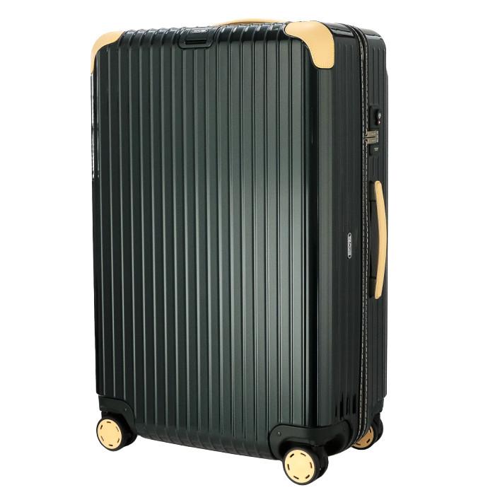 【8月末以降お届け】【お取り寄せ】【送料無料!】リモワ RIMOWA スーツケース ボサノバ 870.73.41.4 84L 5.5kg グリーン 5泊~7泊目安 TSAロック 4輪