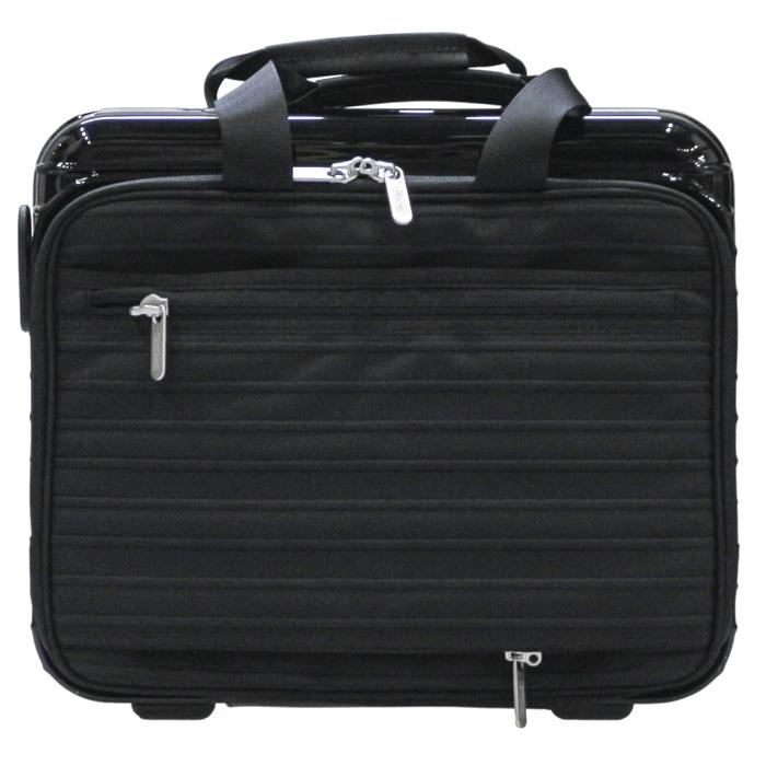【8月末以降お届け】【お取り寄せ】【送料無料!】リモワ RIMOWA サルサデラックスハイブリッド ハンドケース 840.05.50.0 8L 1.6kg ブラック 機内持ち込み可