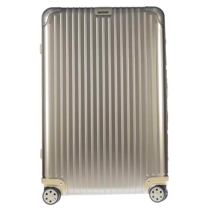 【送料無料!】リモワ RIMOWA スーツケース トパーズチタニウム 924.73.03.4 82L 7.2kg ゴールド 7泊~10泊目安 TSAロック 4輪