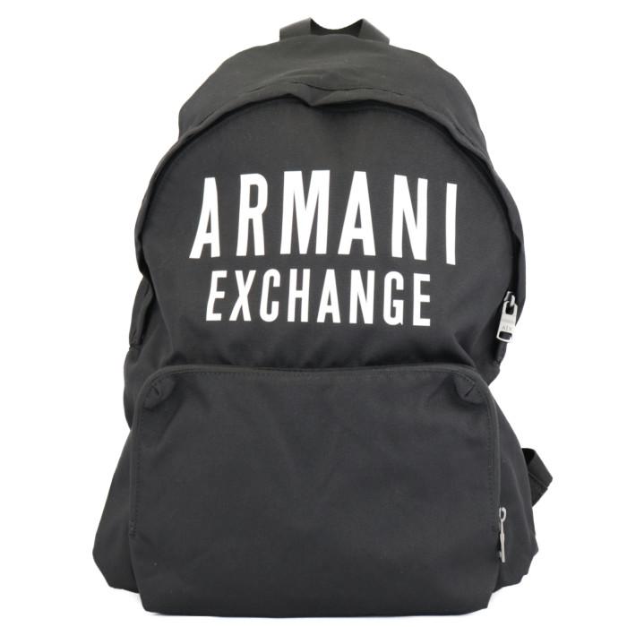 【送料無料!】アルマーニエクスチェンジ ARMANI EXCHAGE リュックサック バックパック 952199 9A124 00020 ブラック メンズ