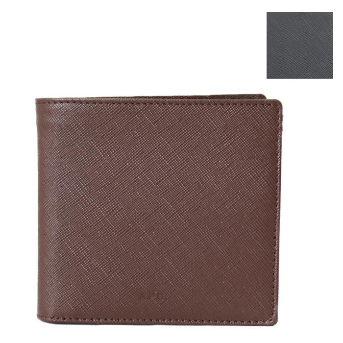 【送料無料!】アーペーセー A.P.C. 小銭入れ付き 二つ折り財布 NEW PORTEFEUILLE LONDON H63340 PXBJQ メンズ