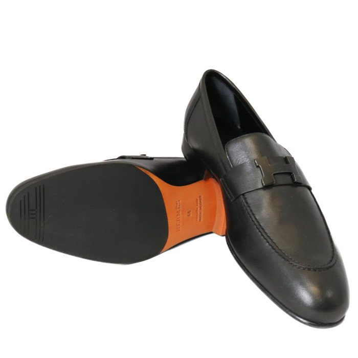 エルメス HERMES ドレスシューズ 紳士靴  191306ZH02 ブラック メンズ