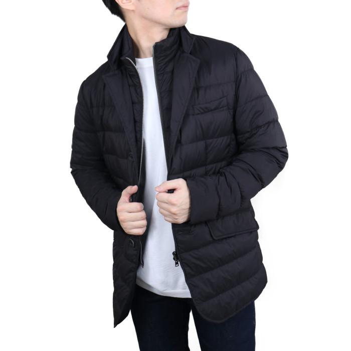 【送料無料!】ヘルノ HERNO メンズ ダウンジャケット PI001ULE 9300 ブラック【BK】