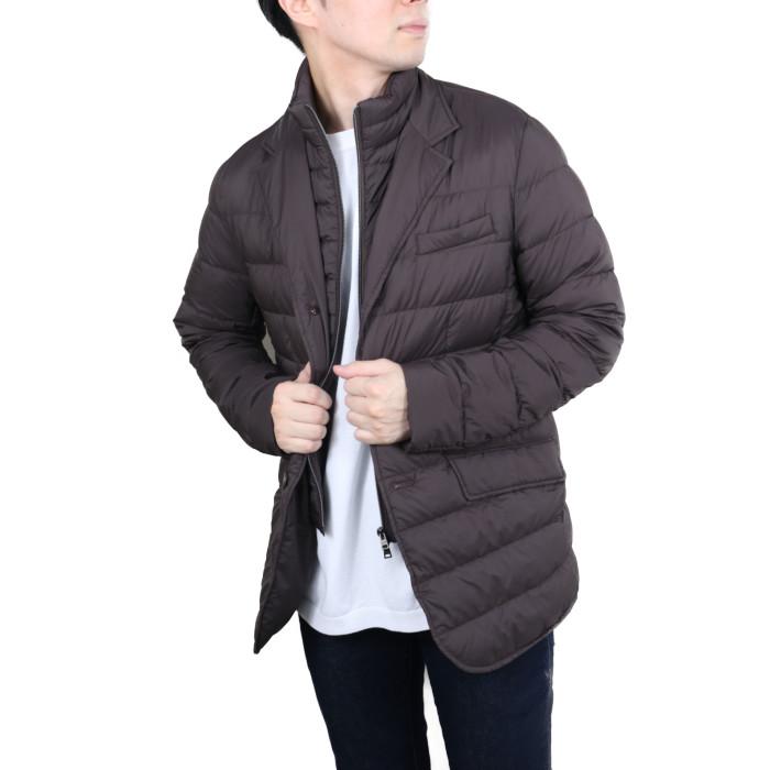 【送料無料!】ヘルノ HERNO メンズ ダウンジャケット PI001ULE 8993 ブラウン【BR】