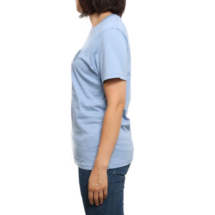 【送料無料!】モンクレール MONCLER レディース Tシャツ 8C75900 V8161 715 ブルー【BL】