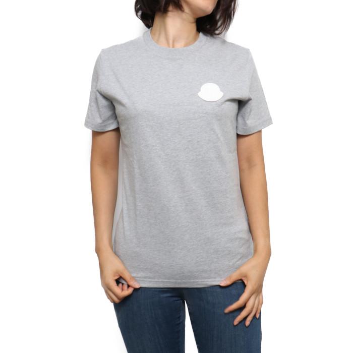 モンクレール MONCLER レディース Tシャツ 8C75900 V8161 910 グレー【GY】