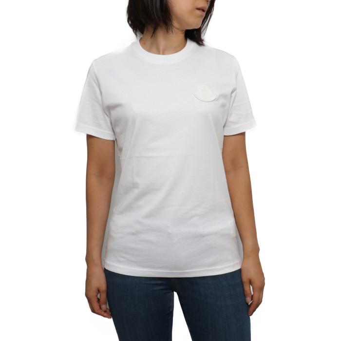 モンクレール MONCLER レディース Tシャツ 8C75900 V8161 033 ホワイト【WH】