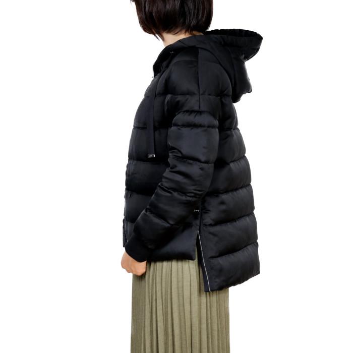 ヘルノHERNOレディースダウンジャケットPI059DR9300ブラック【BK】