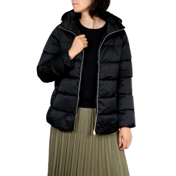 【送料無料!】ヘルノ HERNO レディース ダウンジャケット PI1161D 9300 ブラック【BK】