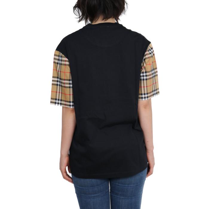 バーバリーBURBERRYレディース半袖Tシャツ8014895ブラック【BK】