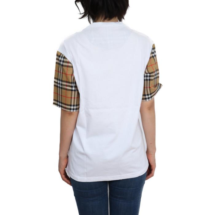 バーバリーBURBERRYレディース半袖Tシャツ8014896ホワイト【WH】