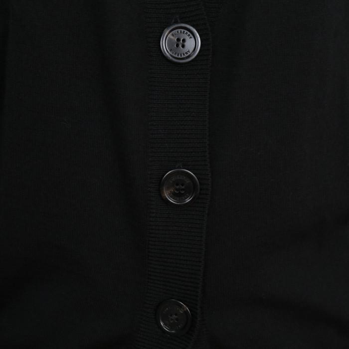 バーバリーBURBERRYレディースカーディガン8024593ブラック【BK】