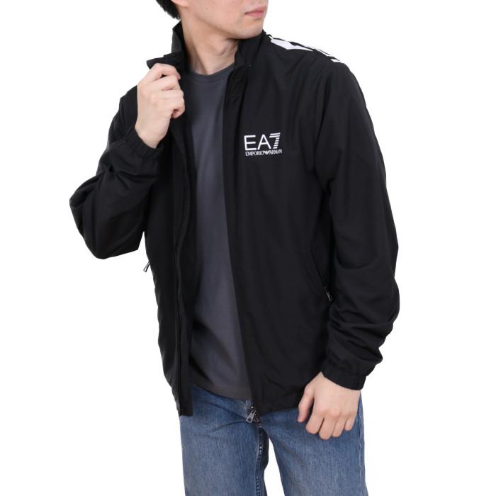 【送料無料!】イーエーセブン EA7 メンズ ウィンドブレーカー 3HPB03  ブラック【BK】