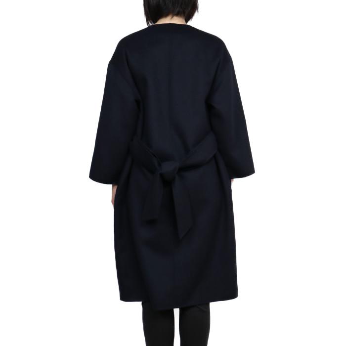 マックスマーラステューディオMAXMARASTUDIOレディースコートETNA006ネイビー【NV】