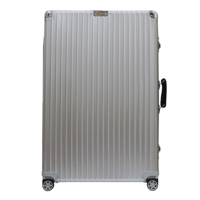 【送料無料】【お取り寄せ】リモワ RIMOWA スーツケース クラシックフライト 971.77.00.4 77L 6.3kg シルバー 7泊~10泊目安 TSAロック 4輪 機内持ち込み不可【Silver】