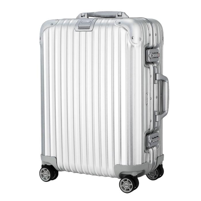 【お取り寄せ】【送料無料】リモワ RIMOWA スーツケース トパーズ 923.53.00.4 32L 4.8kg シルバー 2泊~3泊目安 TSAロック 4輪 機内持ち込み可【Silver】
