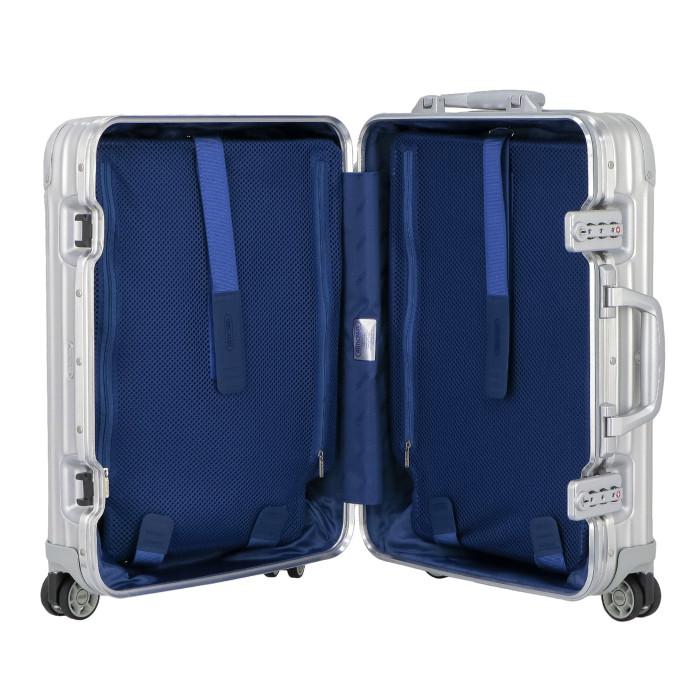【お取り寄せ】リモワRIMOWAスーツケーストパーズ923.53.00.432L4.8kgシルバー2泊~3泊目安TSAロック4輪機内持ち込み可【Silver】