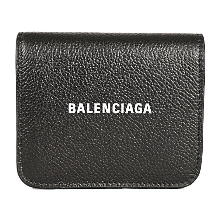 バレンシアガBALENCIAGA小銭入れ付き二つ折り財布CASHFLAPBI-FOLD5942161IZ4M1090ブラックメンズ