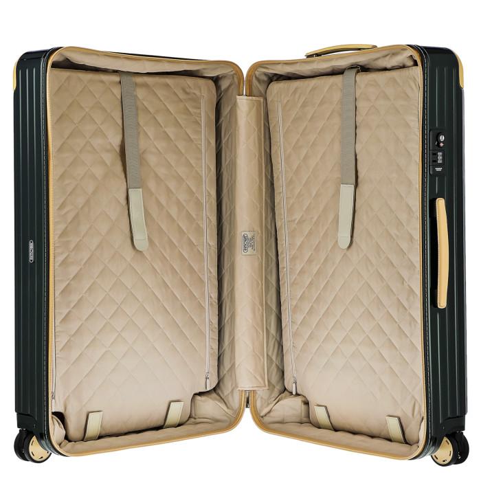 【お取り寄せ】リモワRIMOWAスーツケースボサノバ870.77.41.494L5.9kgグリーンベージュ7泊~10泊目安TSAロック4輪機内持ち込み不可【GreenBeige】