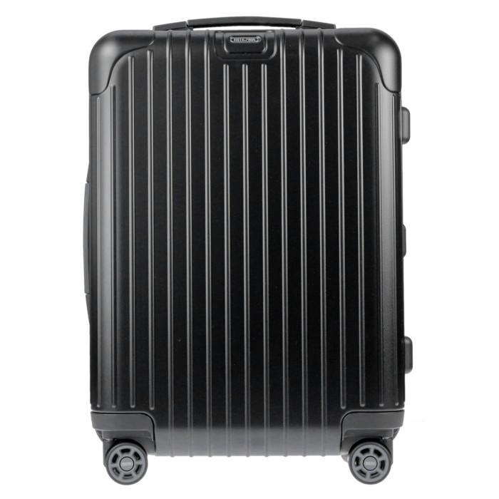 【お取り寄せ】リモワRIMOWAスーツケースサルサ810.53.32.437L3.4kgブラックマット2泊~3泊目安TSAロック4輪機内持ち込み不可【BlackMatte】