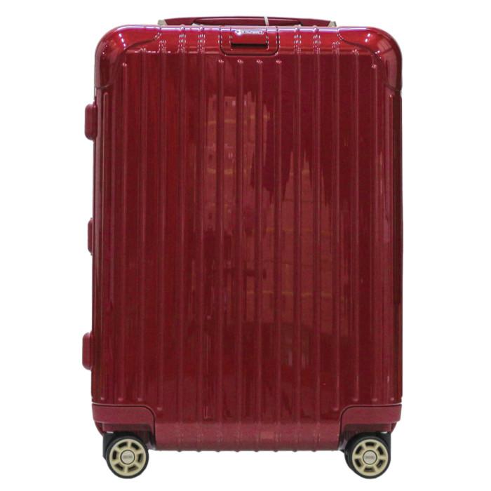 【お取り寄せ】リモワRIMOWAスーツケースサルサデラックス831.53.53.437L3.9kgオリエントレッド2泊~3泊目安TSAロック4輪機内持ち込み不可【OrientRed】