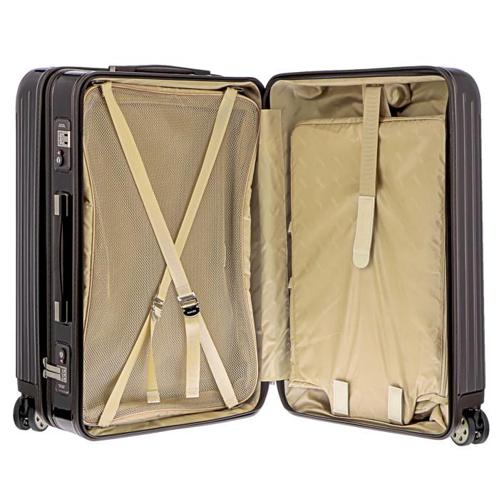 【お取り寄せ】リモワRIMOWAスーツケースサルサデラックス830.65.52.485L6.8kgブラウン7泊~10泊目安TSAロック4輪機内持ち込み不可【Brown】