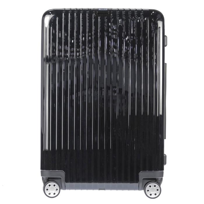 【送料無料】【お取り寄せ】リモワ RIMOWA スーツケース サルサデラックス 830.75.50.4 94L 7.8kg ブラック 7泊~10泊目安 TSAロック 4輪 機内持ち込み不可【Black】