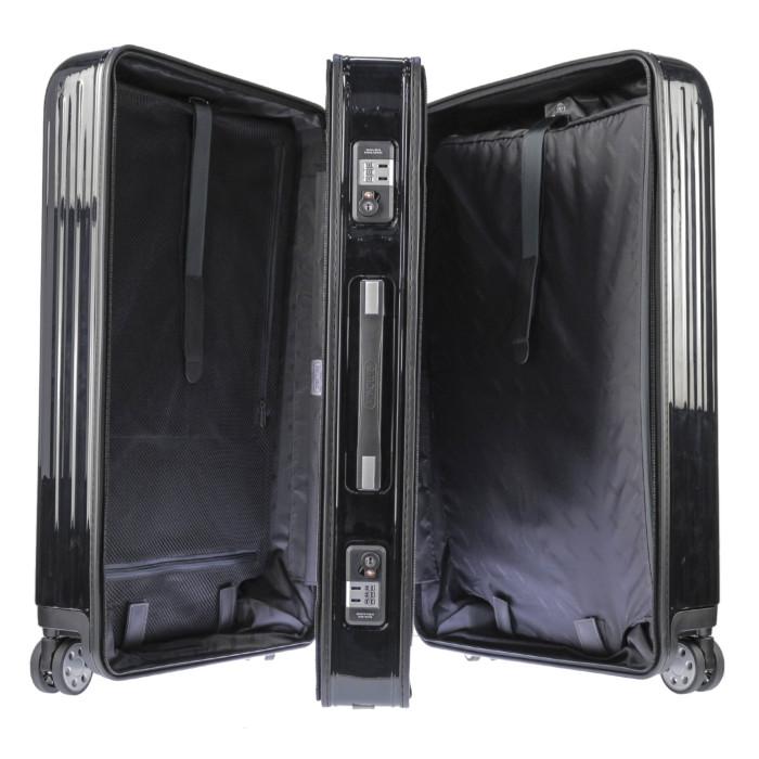 【お取り寄せ】リモワRIMOWAスーツケースサルサデラックス830.75.50.494L7.8kgブラック7泊~10泊目安TSAロック4輪機内持ち込み不可【Black】