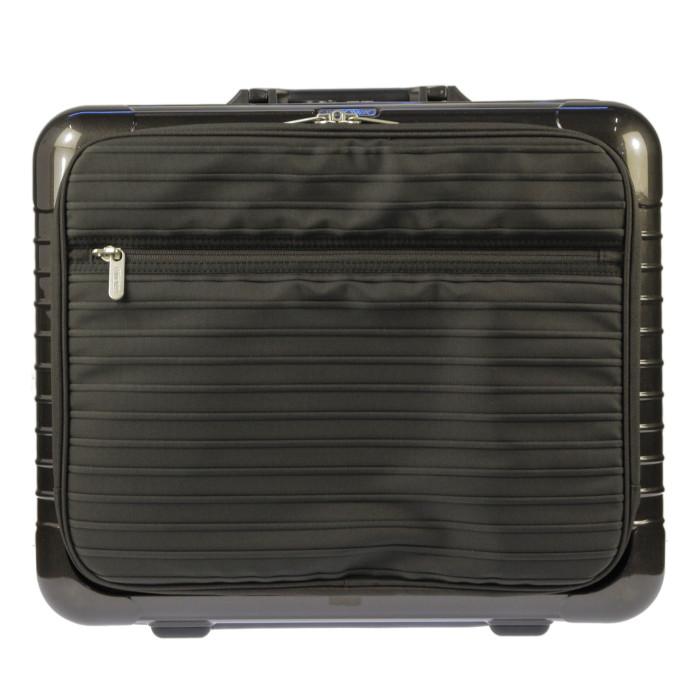 【お取り寄せ】リモワRIMOWAスーツケースサルサデラックスハイブリット840.50.33.232L3.8kgグラナイトブラウン2泊~3泊目安TSAロック2輪機内持ち込み可