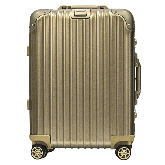 【送料無料】【お取り寄せ】リモワ RIMOWA スーツケース トパーズチタニウム 924.53.03.4 32L 5.0kg 2泊~3泊目安 TSAロック 4輪 機内持ち込み可【Titanium】