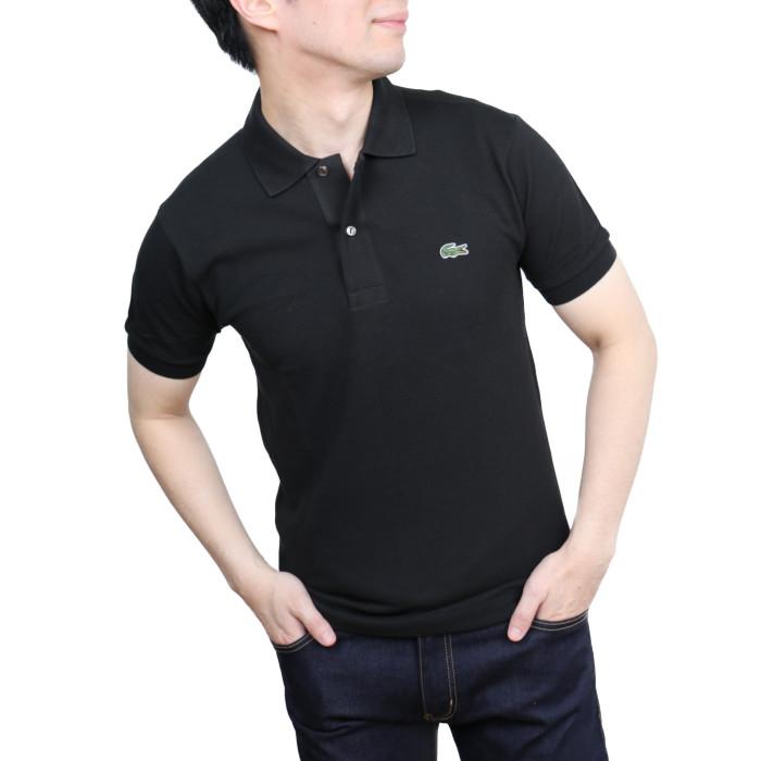 【送料無料!】ラコステ LACOSTE メンズ 半袖ポロシャツ L.12.12 031 ブラック【BK】 2020ssposhirtsco