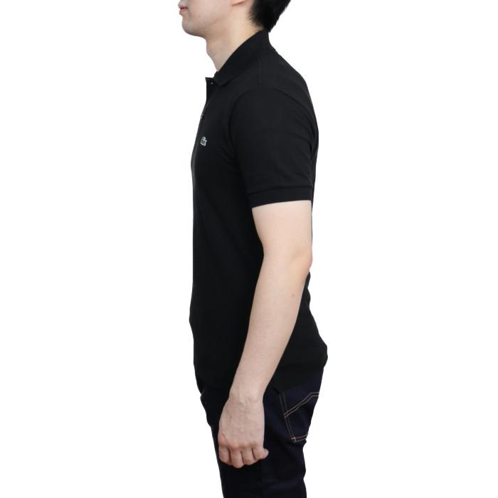 ラコステLACOSTEメンズ半袖ポロシャツL.12.12031ブラック【BK】
