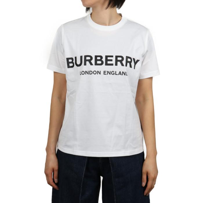 【送料無料!】バーバリー BURBERRY レディース Tシャツ 8008894  ホワイト【WH】