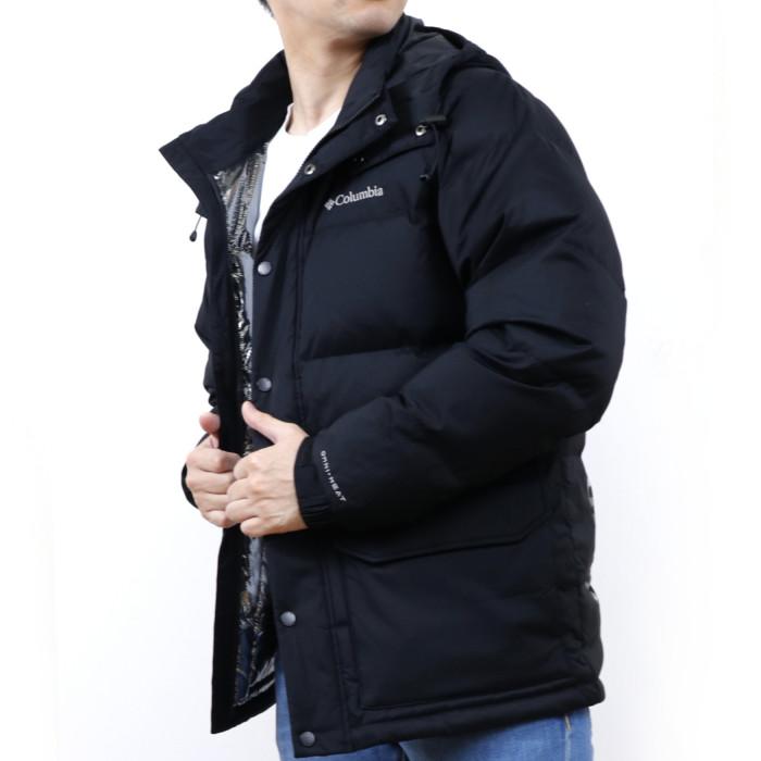 【送料無料!】コロンビア COLUMBIA メンズ ダウンジャケット 1910621 010 ブラック【BK】