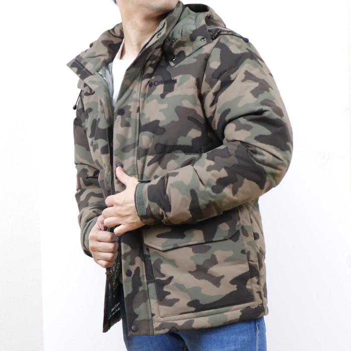 【送料無料!】コロンビア COLUMBIA メンズ ダウンジャケット 1910621 316 カーキ【KH】