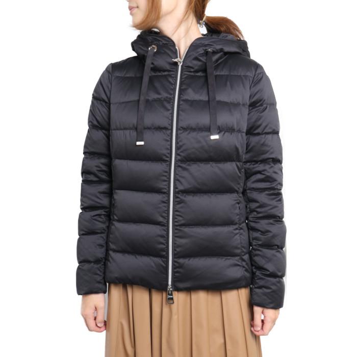 【送料無料!】ヘルノ HERNO レディース ダウンジャケット PI056DR 9300 ブラック【BK】