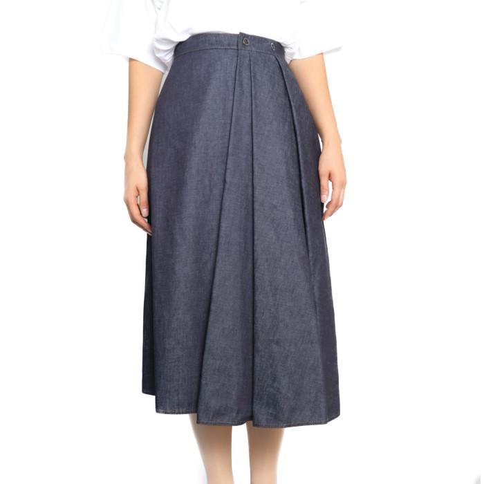 【送料無料!】モンクレール MONCLER レディース スカート 2D72300 54AM8 798 ネイビー【NV】