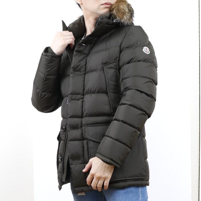 【送料無料!】モンクレール MONCLER メンズ ダウンジャケット CLUNY 835 カーキ【KH】