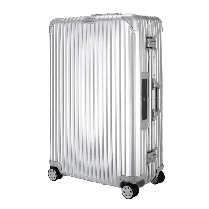 【お取り寄せ】【送料無料!】リモワ RIMOWA トパーズ スーツケース 電子タグ 923.77.00.5 シルバー SILVER