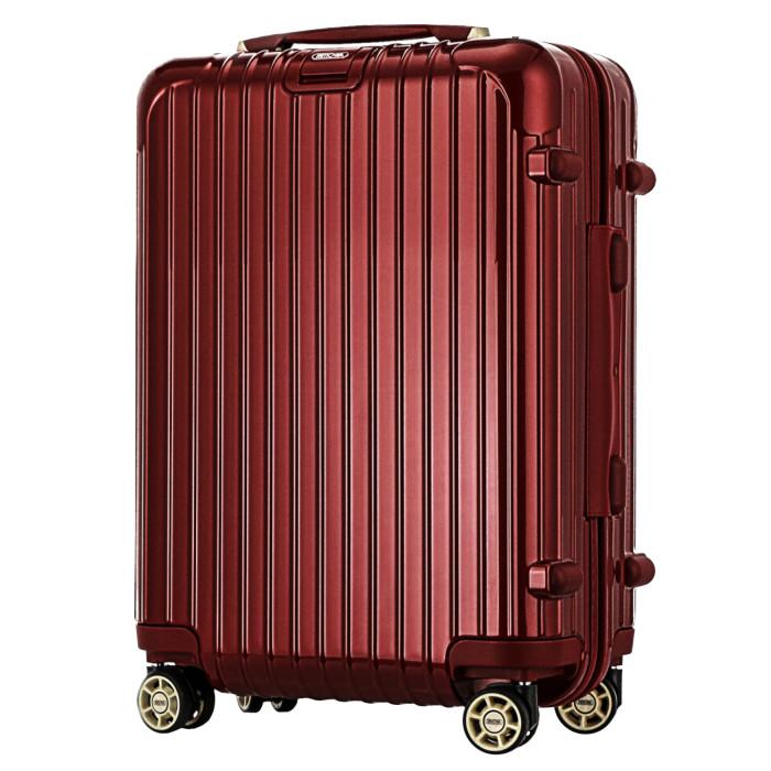 【お取り寄せ】【送料無料!】リモワ RIMOWA サルサデラックス スーツケース 機内持ち込み 830.52.53.4 オリエントレッド ORIENT RED