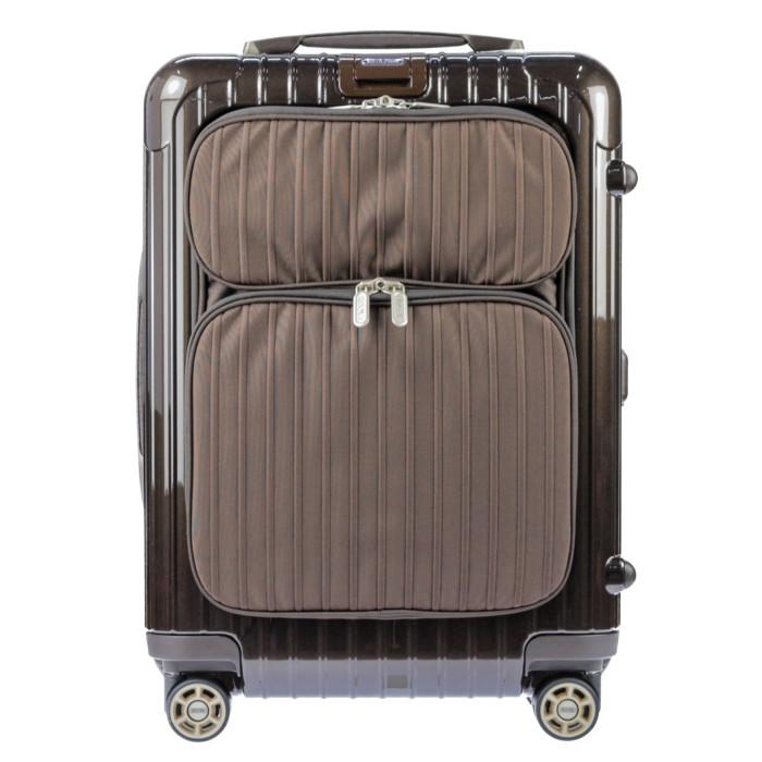 【お取り寄せ】【送料無料!】リモワ RIMOWA サルサデラックス ハイブリッド スーツケース 840.52.52.4 ブラウン BROWN