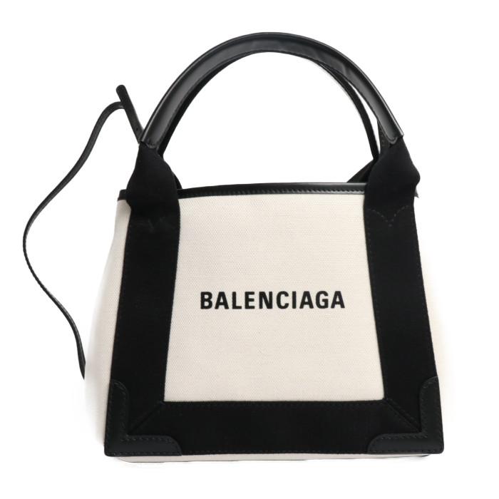 【送料無料!】バレンシアガ BALENCIAGA ハンドバッグ ショルダーバッグ 390346 AQ38N 1081 オフホワイト ブラック レディース