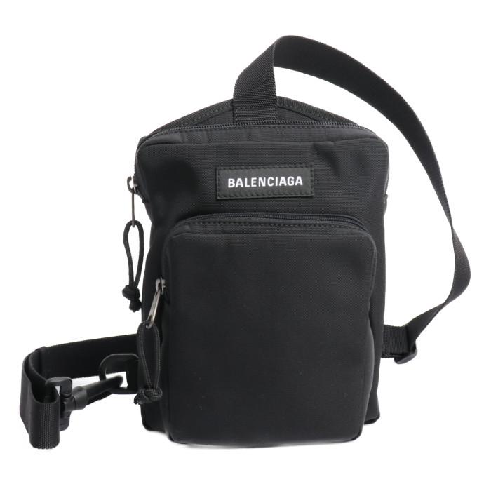 【送料無料!】バレンシアガ BALENCIAGA ボディバッグ 593651 9TY45 1000 ブラック メンズ