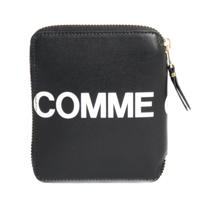 【送料無料!】コムデギャルソン COMME des GARCONS 二つ折り財布 小銭入れ付き SA2100HL  ブラック メンズ ユニセックス メンズ レディース