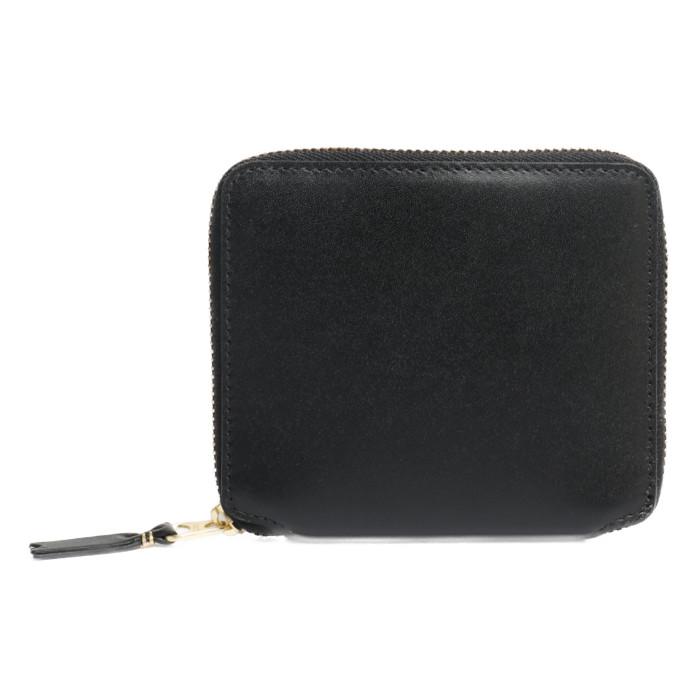 【送料無料!】コムデギャルソン COMME des GARCONS 二つ折り財布 小銭入れ付き SA2100 ブラック ユニセックス メンズ レディース