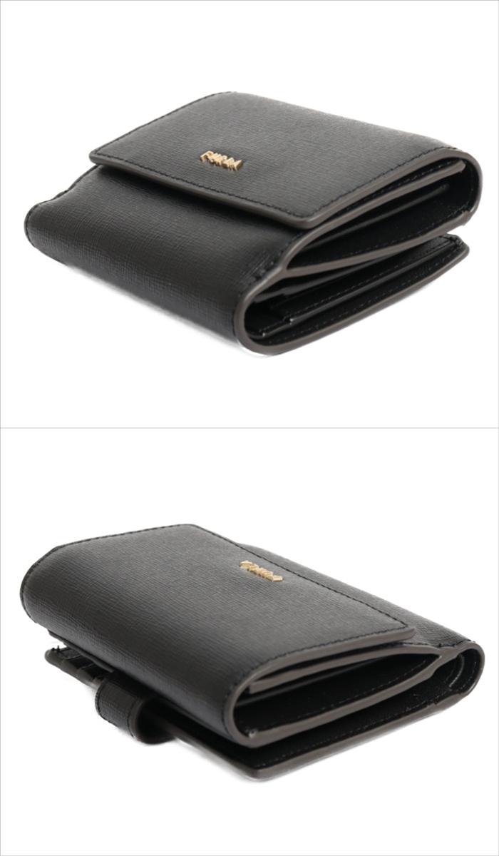 【送料無料!】フルラ FURLA 小銭入れ付き 二つ折り財布 ミニ財布 バビロン PCY8 B30 O60 1056968 ネロ レディース NERO
