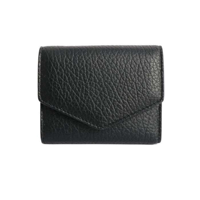 【送料無料!】メゾンマルジェラ MaisonMargiela 三つ折り財布 コンパクトウォレット S56UI0136/P0399 ブラック BK